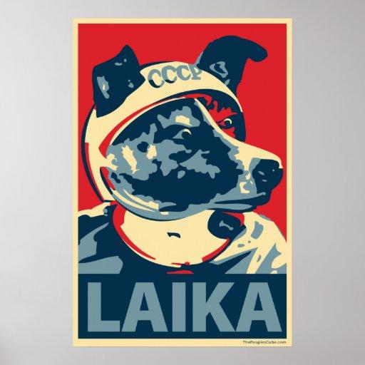 Laika The Space Dog - Laika: OHP Poster