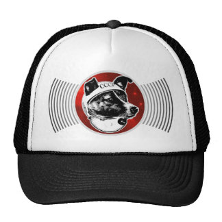 Laika The Space Dog Signal Transmission Hat
