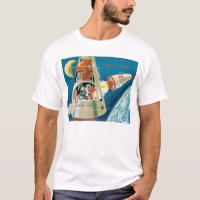 Laika, the space dog. T-Shirt