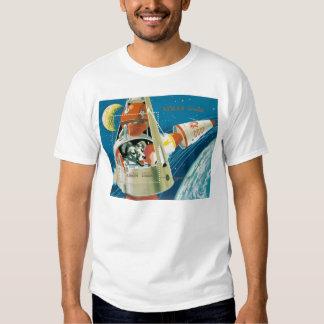 Laika, the space dog. tee shirt