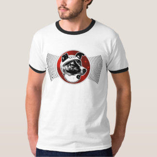 Laika - transmisiones del perro del espacio: poleras