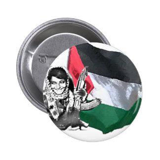 Laila Khaled Pinback Button