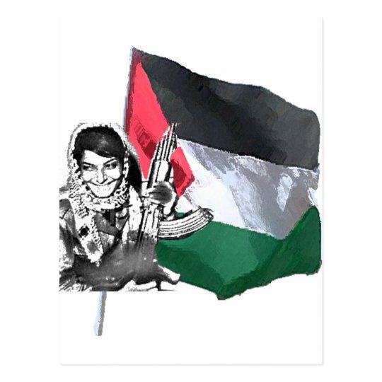 Laila Khaled Postcard