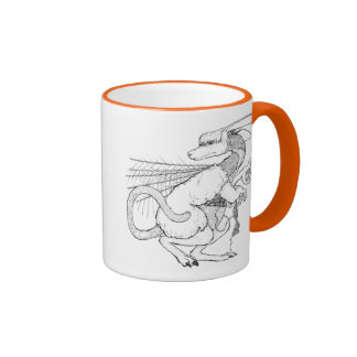 Lainewol, the Knitter Ringer Coffee Mug