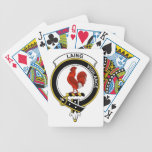 Laing Clan Badge Bicycle Poker Deck