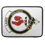 Laing Clan Badge Sleeve For MacBook Pro
