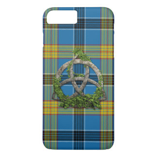 Laing Tartan And Celtic Trinity Knot iPhone 7 Plus Case