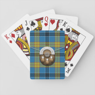 Laing Tartan And Sporran Playing Cards