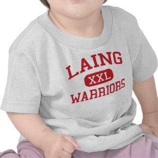 Laing - Warriors - Middle - Mount Pleasant Shirts