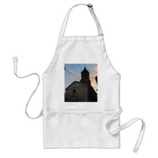 Laino Borgo Church Sunset Adult Apron