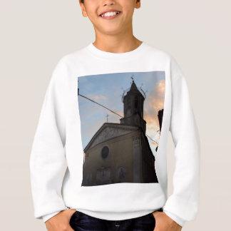 Laino Borgo Church Sunset Sweatshirt