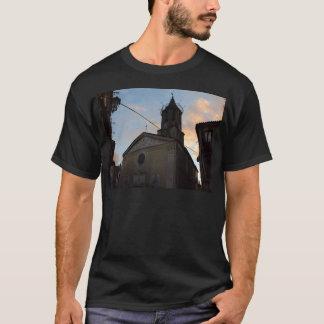 Laino Borgo Church Sunset T-Shirt