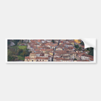 Laino Borgo desde arriba Pegatina Para Auto