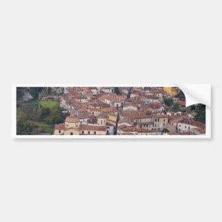 Laino Borgo From Above Car Bumper Sticker