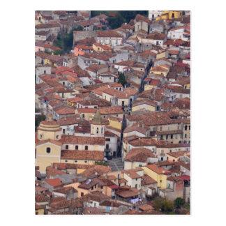 Laino Borgo From Above Postcard