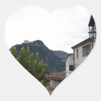 Laino Borgo Pegatina En Forma De Corazón