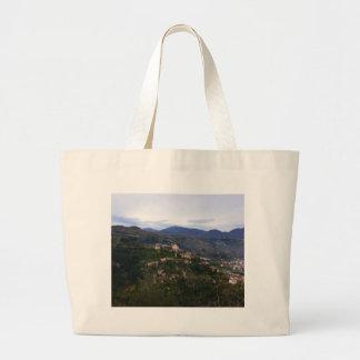 Laino Castello Calabria Large Tote Bag