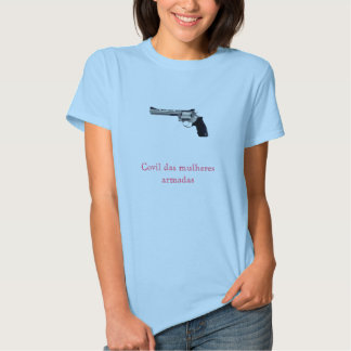 Lair of the armed women tee shirt