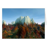 Lair of the Mountain Dragons Greeting Card