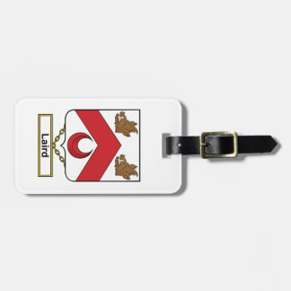 Laird Family Crest Luggage Tag