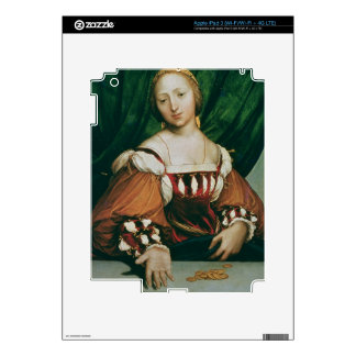Lais Corinthiaca, 1526 (oil on limewood) Skin For iPad 3