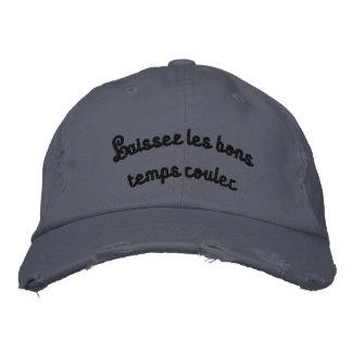 """""""Laisez les bons temps rouler"""" Embroidered Cap"""