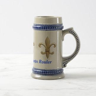 Laissez Bon Temps Rouler Fleur Coffee Mugs