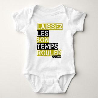 Laissez les bon temps rouler baby bodysuit