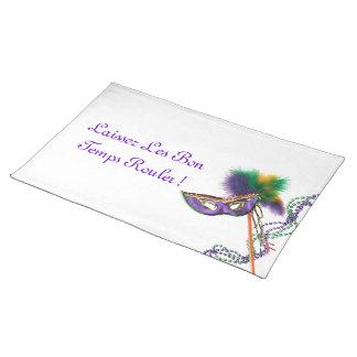 Laissez Les Bon Temps Rouler Cloth Placemat