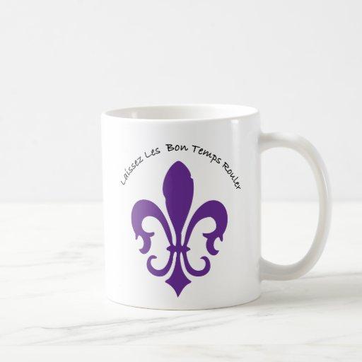 Laissez les bon temps rouler mugs