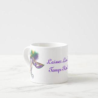 Laissez Les Bon Temps Rouler 6 Oz Ceramic Espresso Cup
