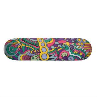 Laissez les bons temps rouler custom skateboard