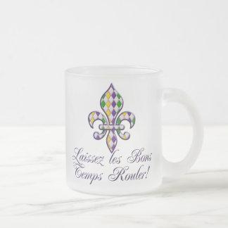 Laissez les Bons Temps Rouler Mardi Gras Fleur d2 Coffee Mug