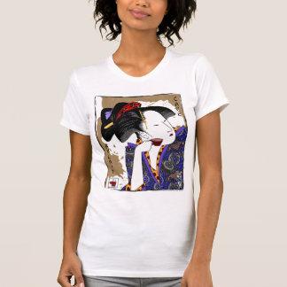 lait de au del café de los utamaro #2 (w) camiseta