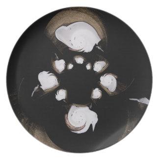 Lait de Coco Plate Plato De Comida