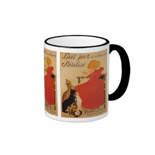 Lait Pur de la Vingeanne Sterilise Ringer Coffee Mug
