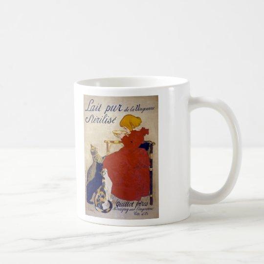 Lait pur stérilisé de la Vingeanne, Steinlen Coffee Mug
