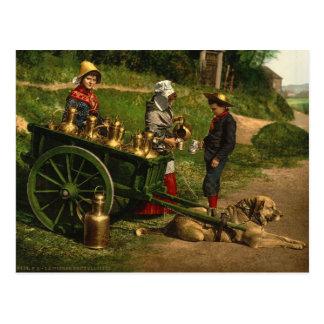 Laitiere Bruxelloise no2 Postcard
