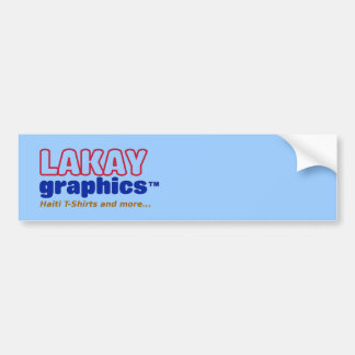 Lakay Graphics Car Bumper Sticker