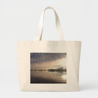 lake-3356 large tote bag