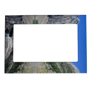 Lake Agnes Mount Whyte Alberta Canada Magnetic Frame