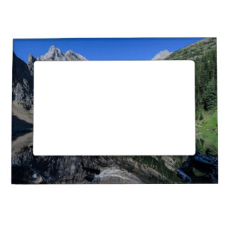 Lake Agnes Mount Whyte Alberta Canada Magnetic Photo Frame