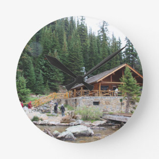 Lake Agnes Teahouse Round Clock
