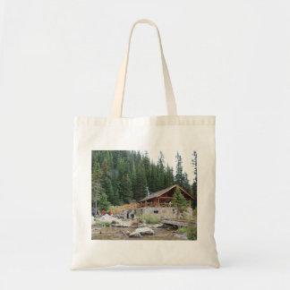 Lake Agnes Teahouse Tote Bag