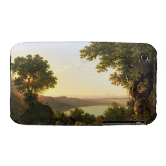 Lake Albano, Italy, 1777 (oil on canvas) iPhone 3 Case