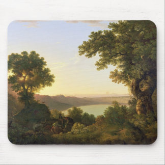 Lake Albano, Italy, 1777 (oil on canvas) Mouse Pad