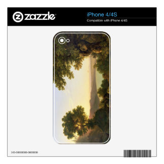 Lake Albano, Italy, 1777 (oil on canvas) Skins For iPhone 4S