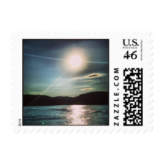 Lake Allatoona Sunset Stamps