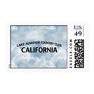 Lake Almanor Country Club California Stamps