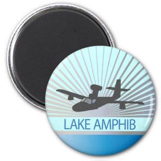 Lake Amphib Aviation 2 Inch Round Magnet